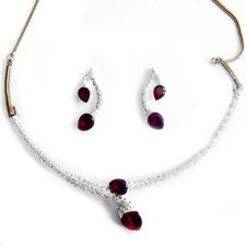 Sempre Necklace Set at Rs.552