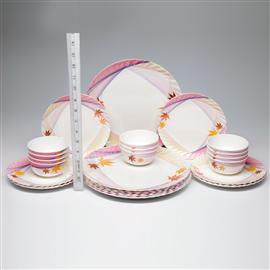 Crystal 24 pcs Dinner Set at Rs.999