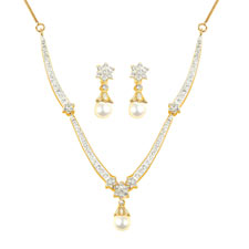 Oleva Necklace Set at Rs.499