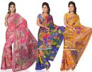 Aarika Printed Combo Saree at Rs.799