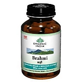 Organic India Brahmi Capsules at Rs.135