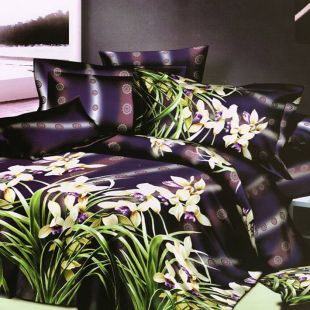 Printed Double Bed Sheet & Pillow Cover at Rs.1099
