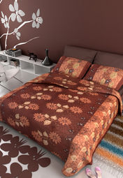 Salona Double Bedsheet & 2 Pillow Covers at Rs.899