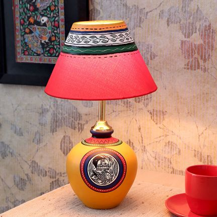 Maati Round Stand Table Lamp at Rs.1099