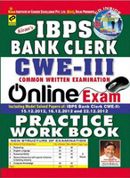 IBPS Bank Clerk CWE-III Books at Rs.400