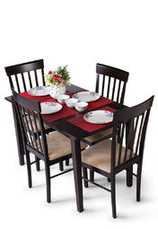 Truhome Wood Dining Set at Rs.14990