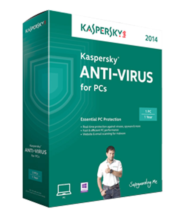 Kaspersky Anti Virus at Rs.635