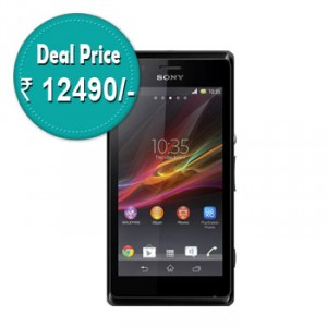 Sony Xperia M at Rs.12490