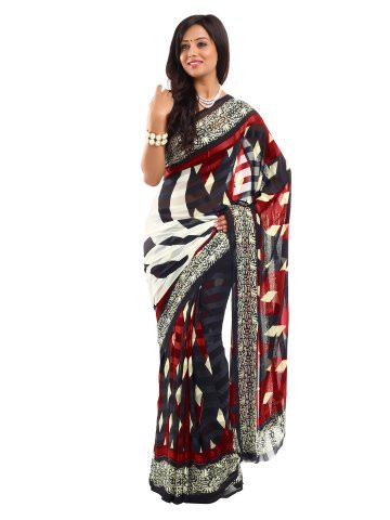 Satrang Chiffon Fashion Saree at Rs.779