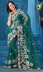 Designer Net saree at Rs.3609