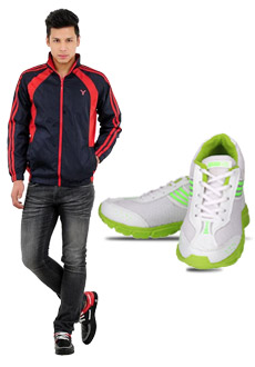 Yepme Free Shoes with Jacket at Rs.899