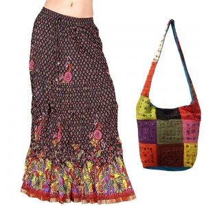 Fancy Skirts & Handbag Free at Rs.1180