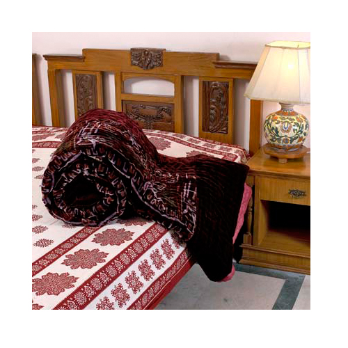 Jaipuri Velvet Razai at Rs.2305