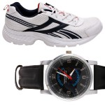 Reebok Shoes & Wrist Watch at Rs.2199