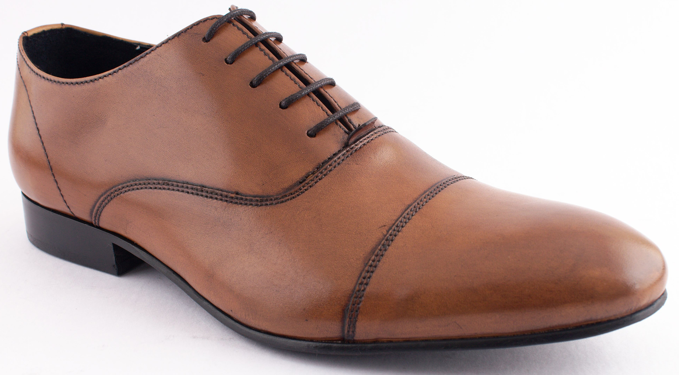 Fellini Tan Formal Shoes at Rs.2449