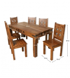 Rajputana Design Dining Set at Rs.34999