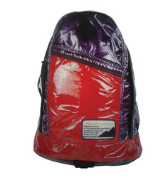 Glossy Purple Red Backpack at Rs.749