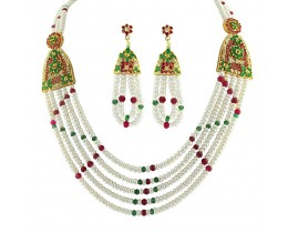 Jpearls 4 String Pearls Necklace at Rs.6250