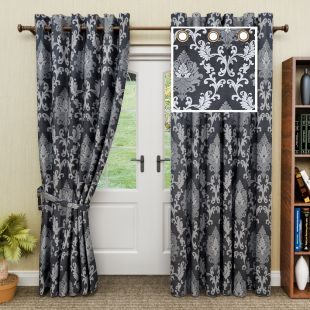 GM Floral Curtain at Rs.695