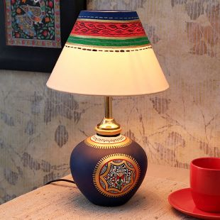 Maati Designs Stand Table Lamp at Rs.1099