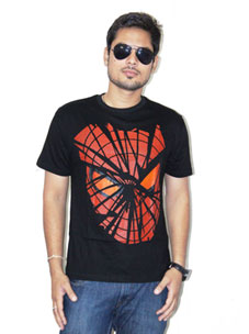 Black Spider T-Shirts at Rs.549
