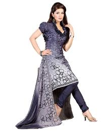Unstitched Suit With Dupatta at Rs.599