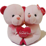 Loving Heart Teddy Bear at Rs.349