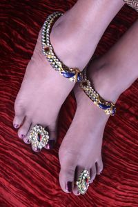 Khoobsurat Art Jewellery Payal at Rs.4739
