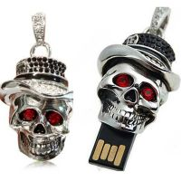 Skull Skeleton USB Pendrive 8 GB & Key Chain at Rs.799