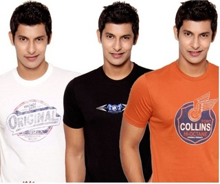 Pack of 3 Printed T-Shirts at Rs.399