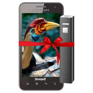 Adcom Smart Phone & Power Bank at Rs.4999