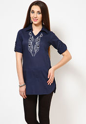 Sangria Embroidered Kurta at Rs.499