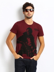 Roadster Printed T-shirt at Rs.239