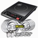 Induction Cooktop & 24 Pcs Dinner Set at Rs.2999
