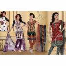 Set of 3 pcs Kriaa Unstitched Suit at Rs.1499