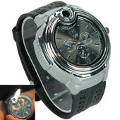 Wrist Watch &  Refillable Lighter at Rs.399
