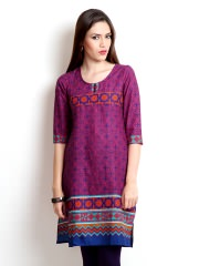 Vishudh Printed Kurta at Rs.699