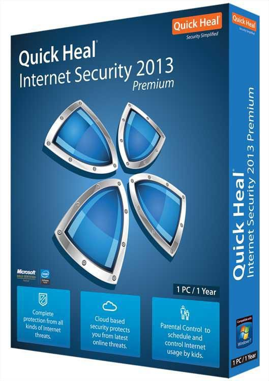 Quick Heal Internet Security 2013 at Rs.1159