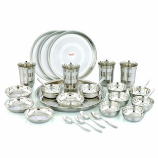 Pigeon S.S. Dinner Set 42 Pcs Dxl at Rs.1679