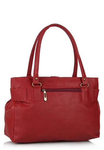 Alessia maroon handbag at Rs.699