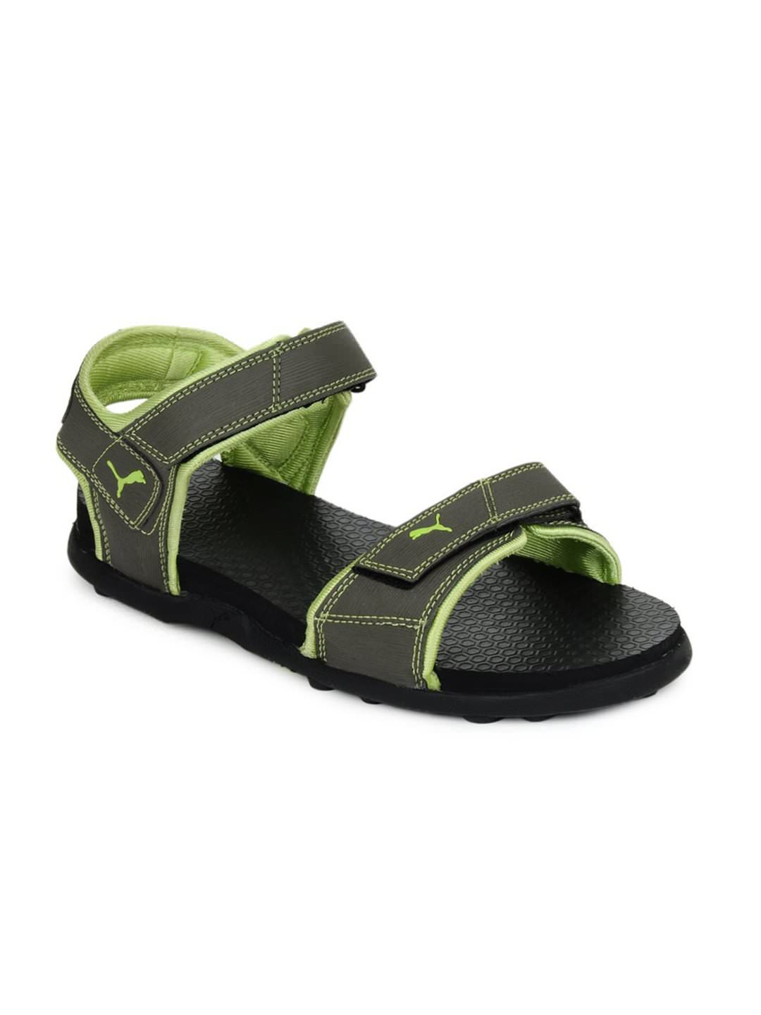 Puma Men Olive Sonic III Sports Sandals at Rs.1049