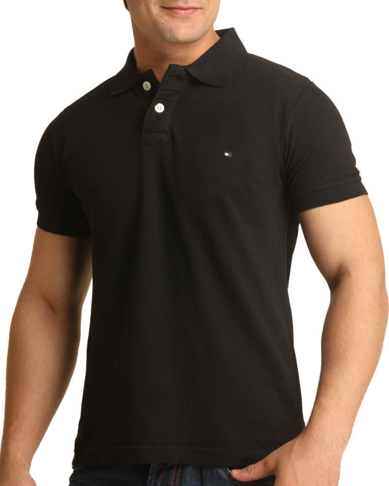 Buy Tommy Hilfiger cotton stylish polo T-Shirt at Rs.720