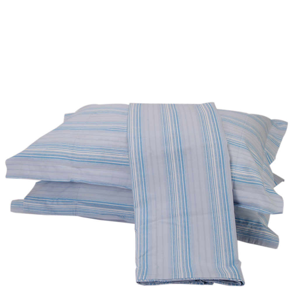 Buy Mesmerize blue cotton - double bed sheet at Rs.878