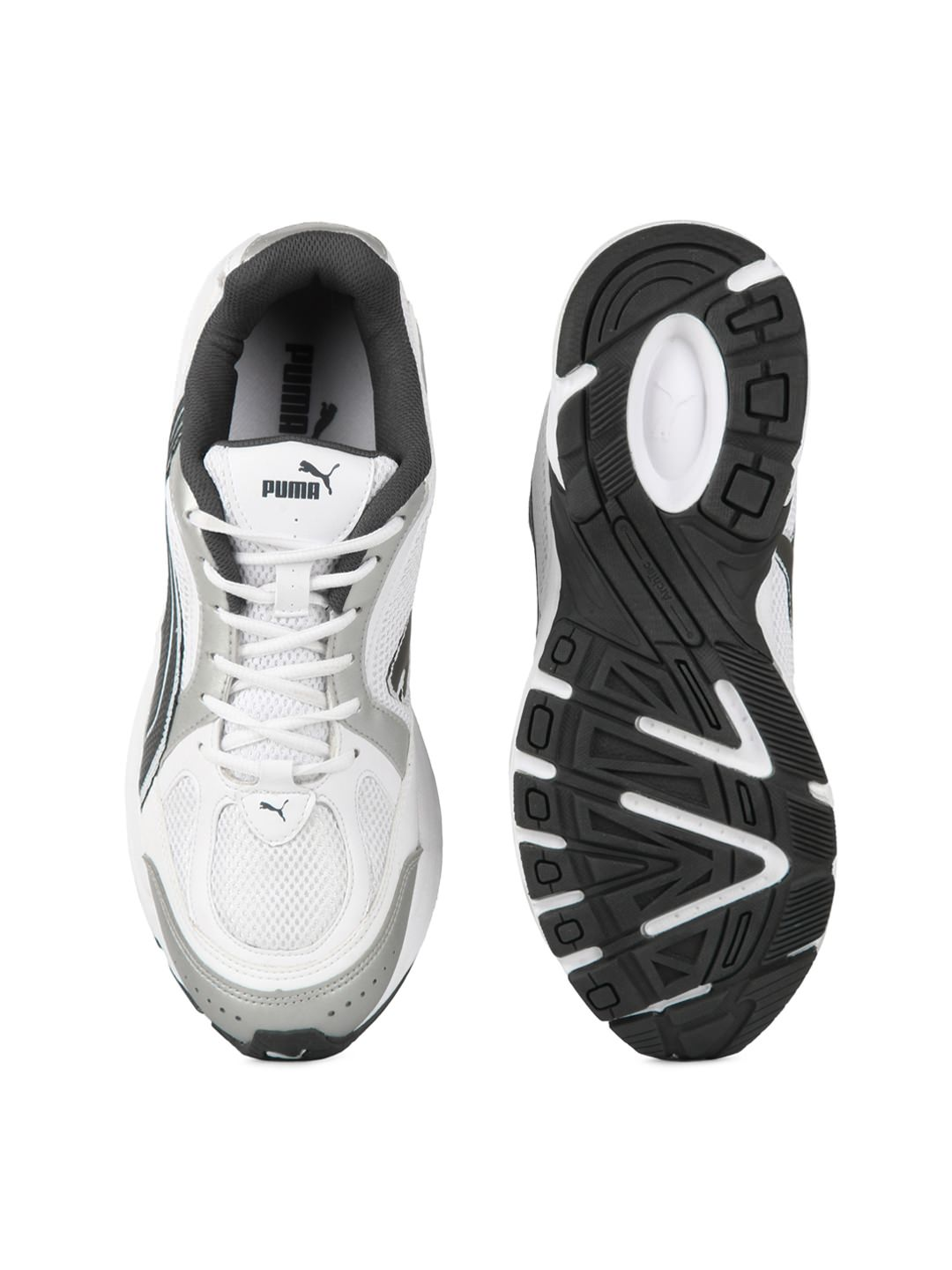 Puma men white & grey ceylon II sports shoes at Rs.2999