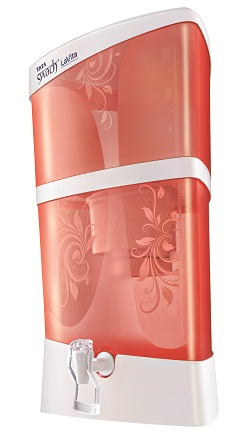 Tata Swach Lavita Water purifier sunset rose at Rs.1950