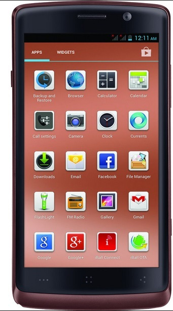 Buy Iball Andi 4.7g Cobalt mobile phone at Rs.13799