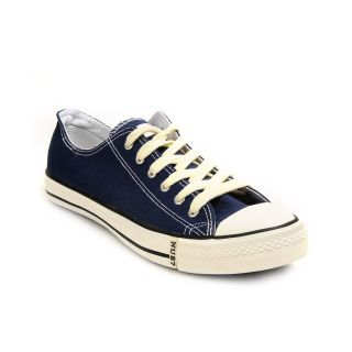 Buy Numero Uno guys navy blue canvas shoes at Rs.899