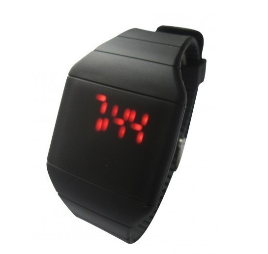 Buy Touch Silicon LED Watch at Rs.139