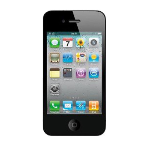 Buy i phone mobile 4 8GB black at Rs.23500