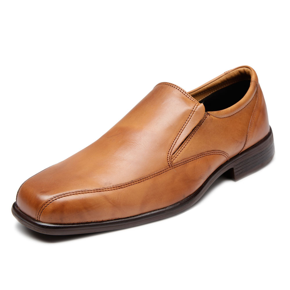 Buy Blanca Brown pure leather men formal shoes at Rs.799